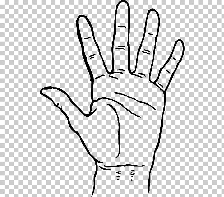 Praying Hands , Hand Drawing Outline, left human palm sketch.