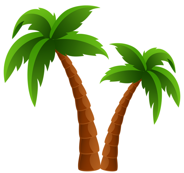 Palm trees clipart #1