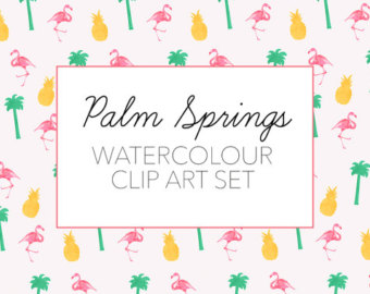 Palm springs clipart #8