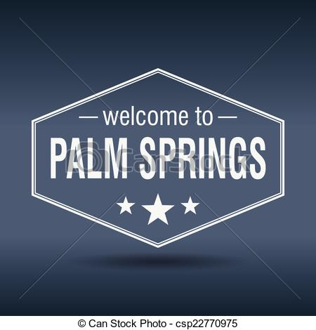 Palm springs clipart #3