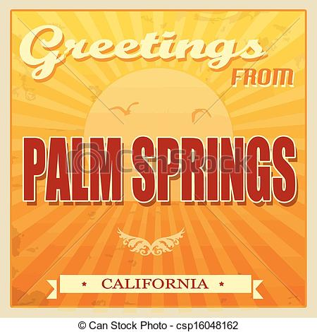 Palm springs clipart #19