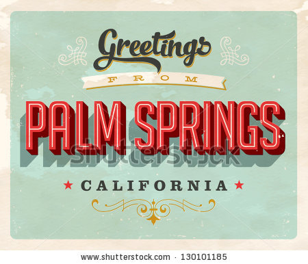 Palm Springs Stock Photos, Royalty.