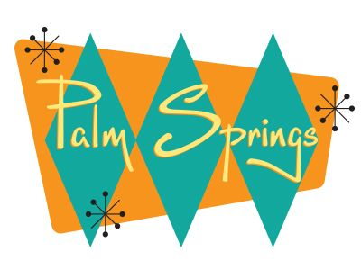 Palm springs clipart #12