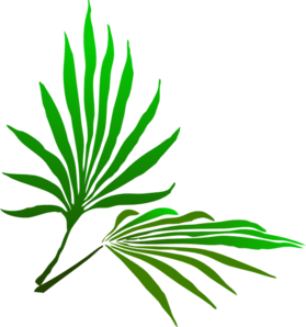 Cp Paurb: Palm Sunday Branch Clip Art at Clker.com vector.