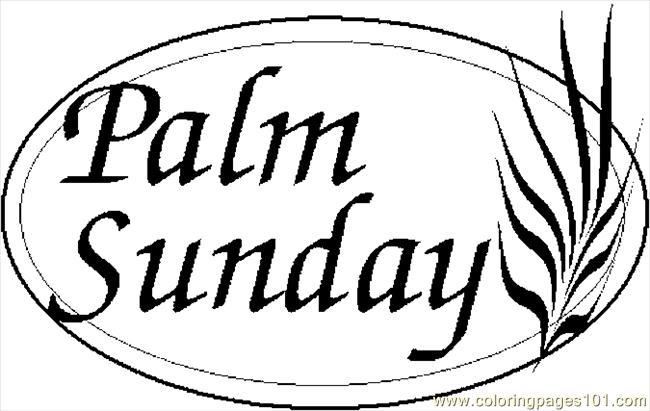 Palm Sunday Clipart Religious.
