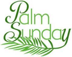 Palm Sunday Clip Art Images.