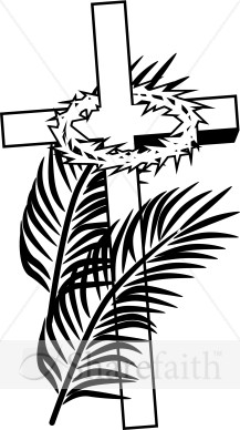 Palm Sunday Clip Art Black And White.