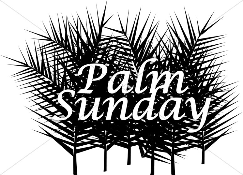 Palm sunday clipart black and white 2 » Clipart Portal.