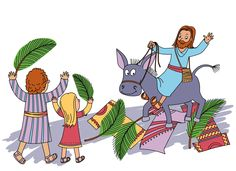 Palm Sunday Clipart For Kids.