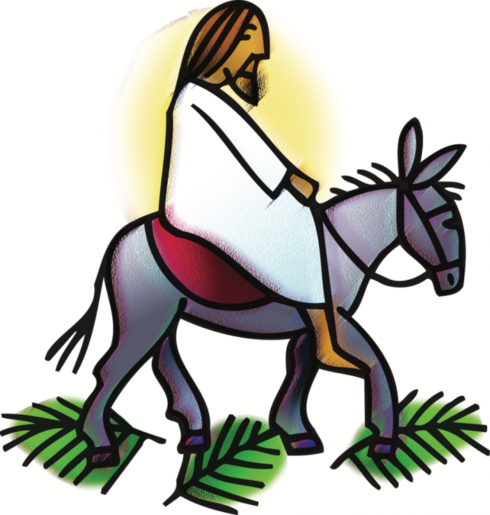 Donkey clipart palm sunday, Donkey palm sunday Transparent.