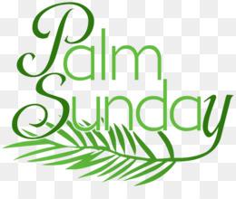 Palm Sunday PNG.