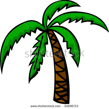 Palm tree bark clipart #13