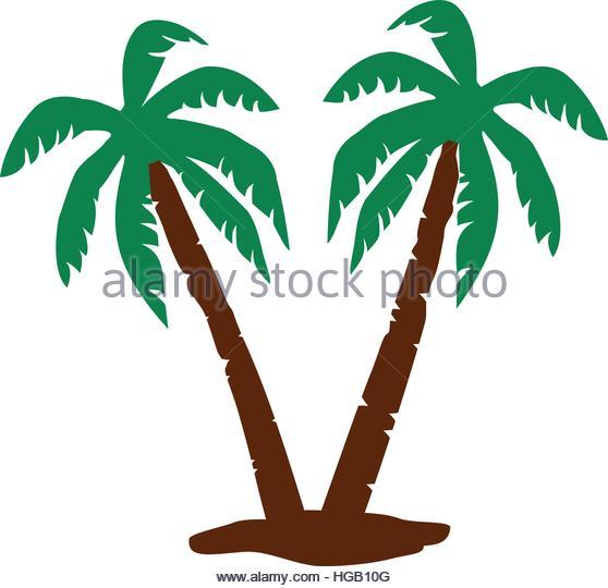 Palm tree bark clipart #9