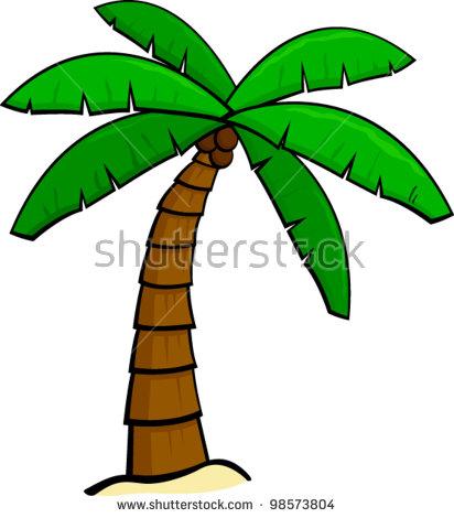 Palm tree bark clipart #16