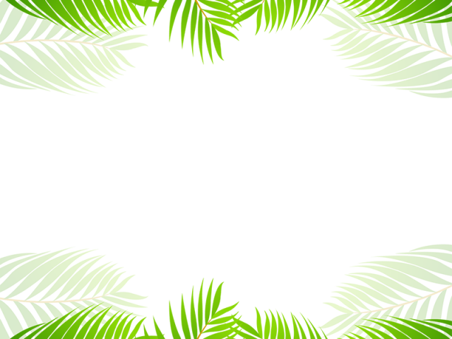Download HD Tropical Clipart Border.
