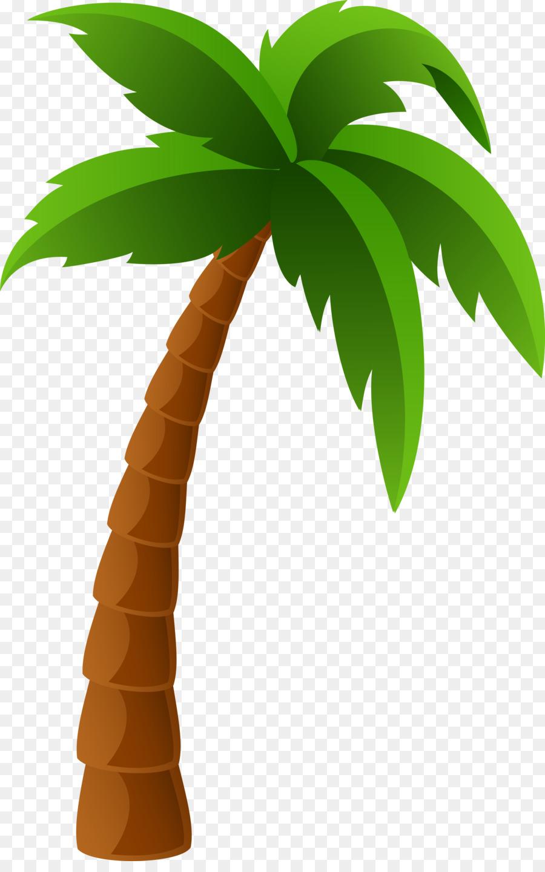Cartoon Palm Tree.