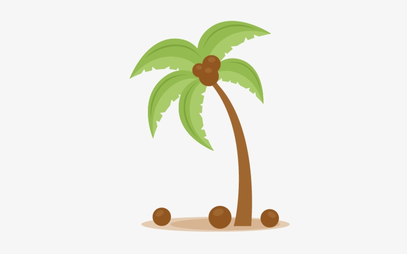 Palm Tree Svg Scrapbook Cut File Cute Clipart Files.