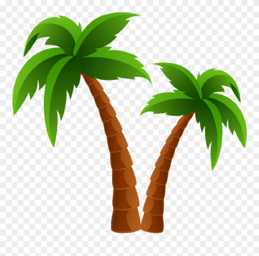 Palm Tree Clip Art And Cartoons On Palm Trees.