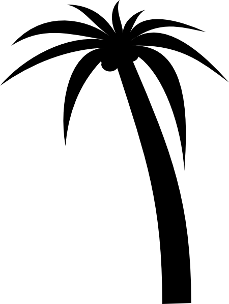Palm Tree clip art (115286) Free SVG Download / 4 Vector.