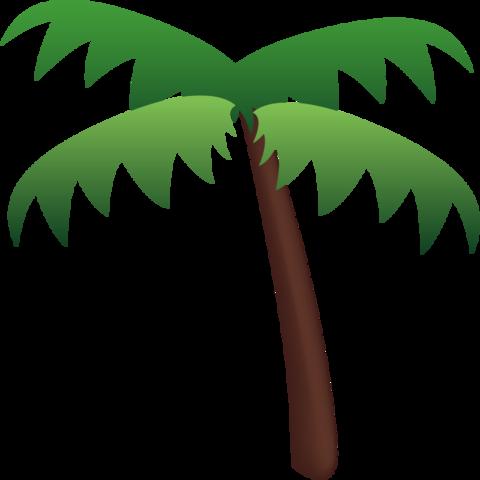 Palm Tree Emoji.