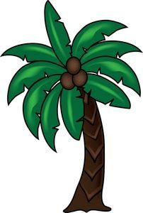 Palm Tree Clipart Image.