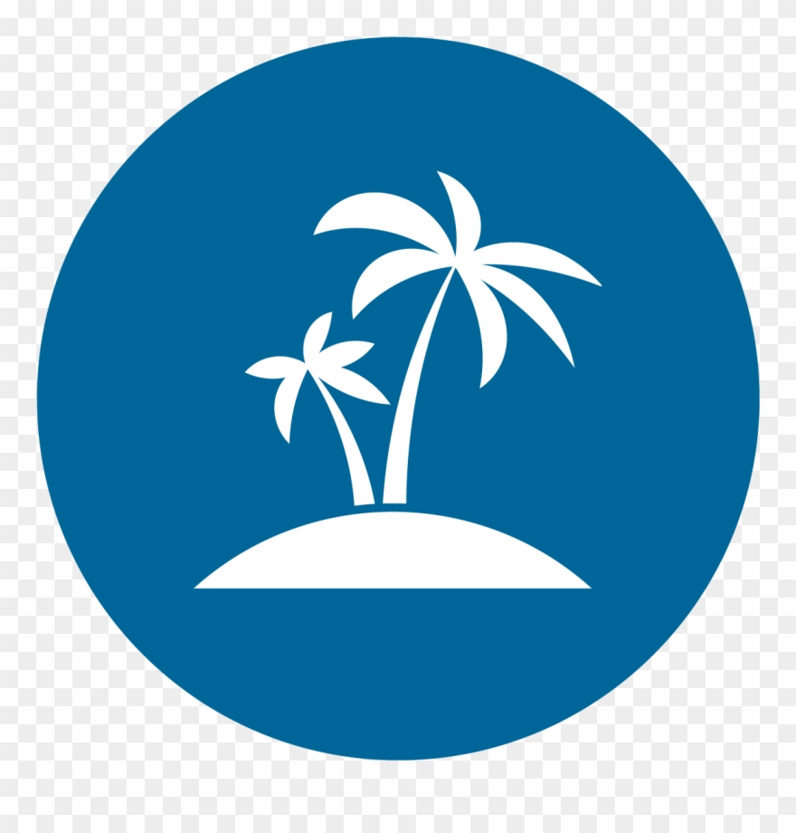 Palm Tree Icon Png Download Clipart (#2337342).