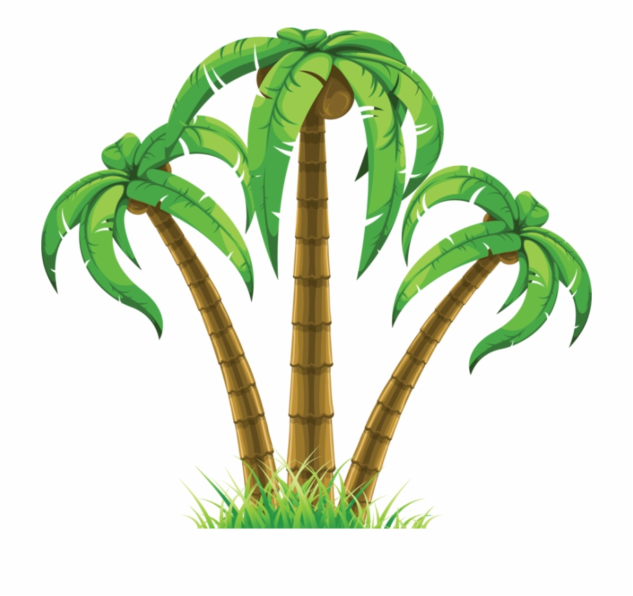 Palm Trees Clip Art Png.