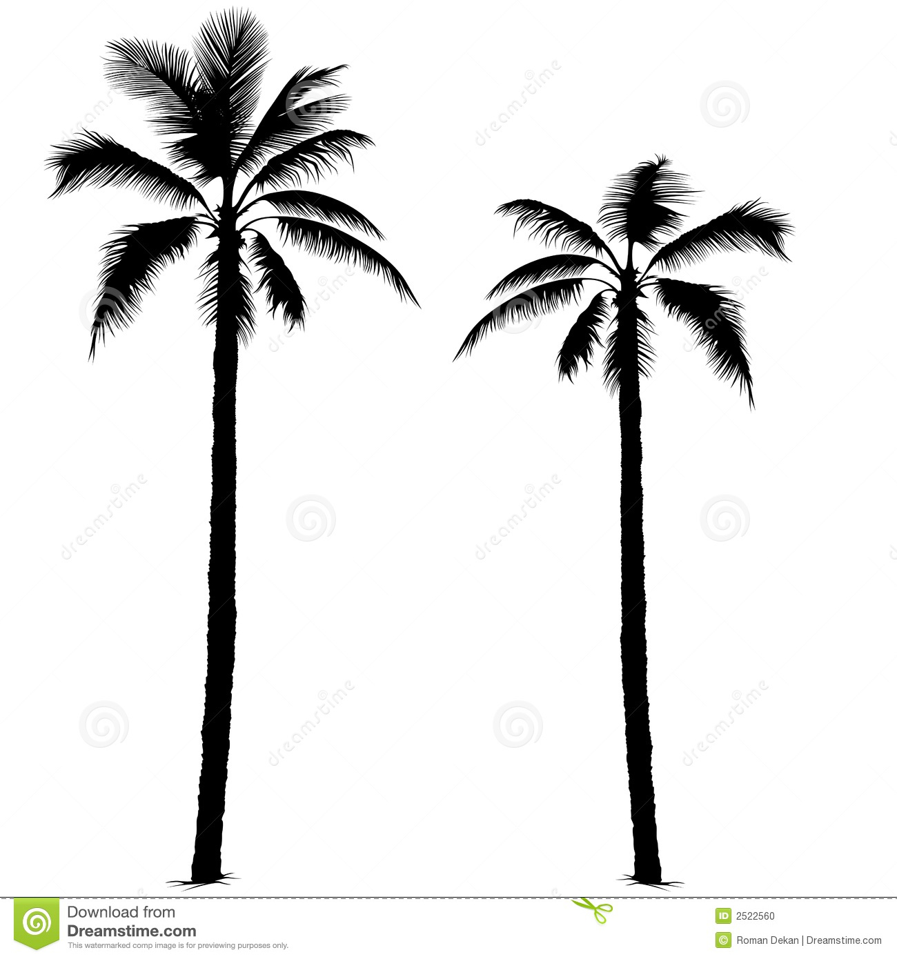 Palm Tree La Clipart.