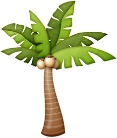 La Palm Trees Clipart.