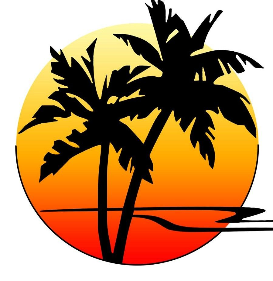Looking at palm trees may like to put it in the logo.