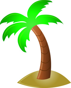 This palm tree clipart.