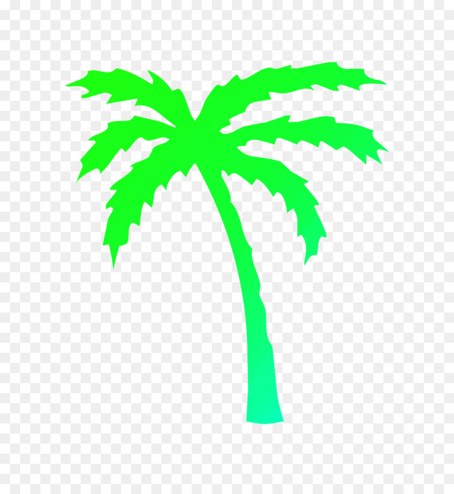 Palm Tree Leaf png download.