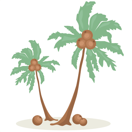 Palm Tree SVG scrapbook cut file cute clipart files for silhouette.