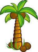 Coconut palm Clip Art EPS Images. 6,720 coconut palm clipart.