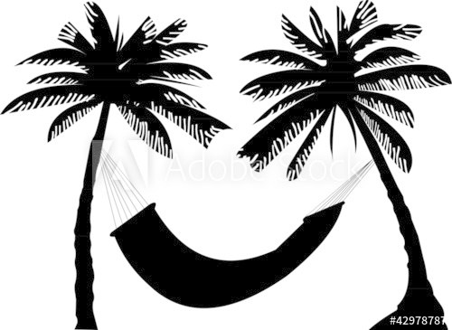 Palm tree with hammock clipart 3 » Clipart Portal.