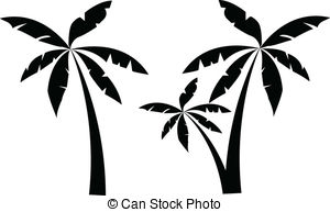 Palm trees clipart #20