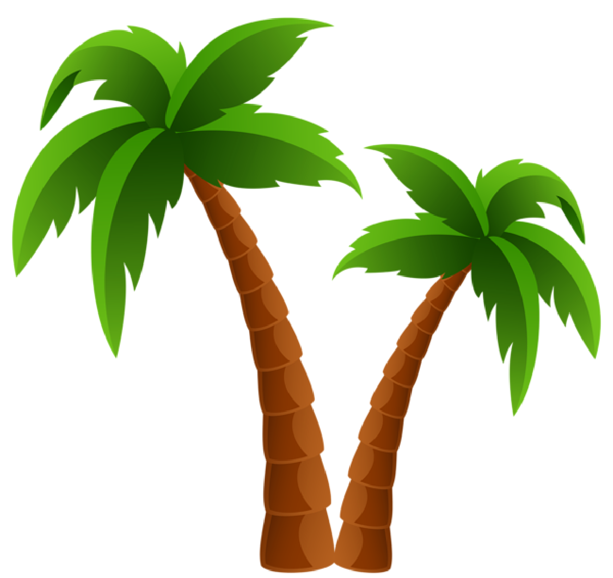 Palm tree clipart free clipart images gallery for free.