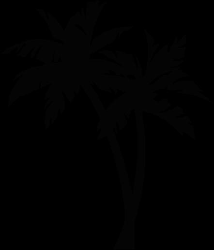 palmtree tattoo.