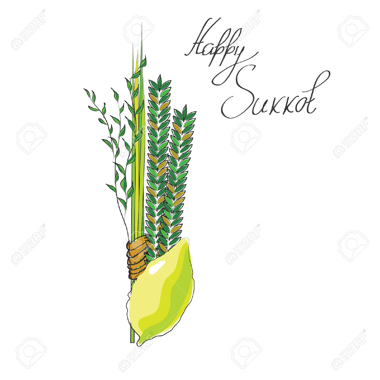 Palm willow clipart #5