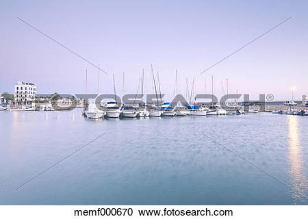 Stock Photography of Spain, Balearic Islands, Majorca, Harbour.