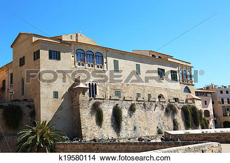 Stock Photo of Palau Episcopal Palma de Mallorca k19580114.