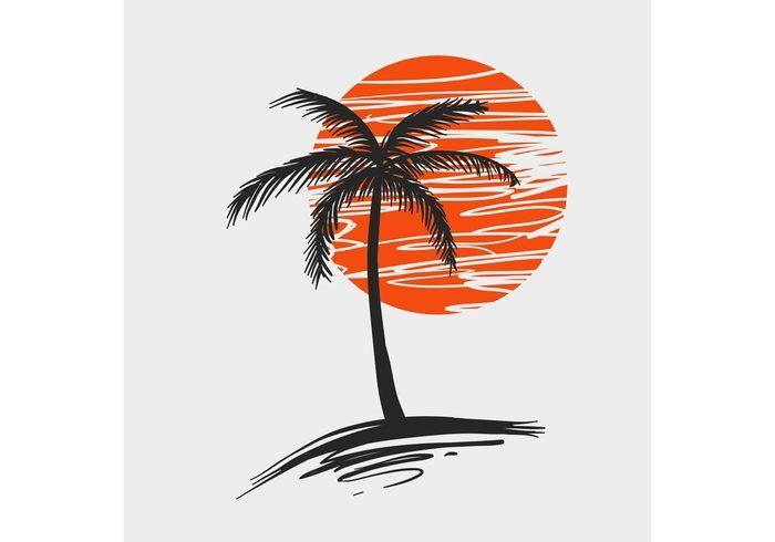 Palm Tree Vector.