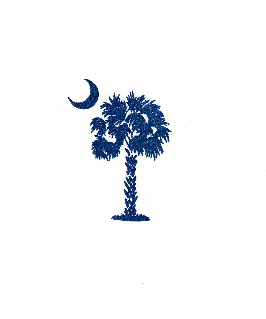 Sc State Flag Clipart.