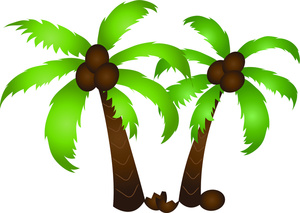 Palm tree clip art free clipart images 2.