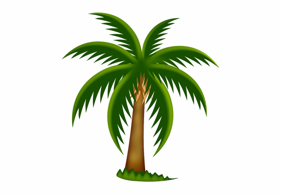 Palm Tree Clip Art Printable Free Clipart Image.