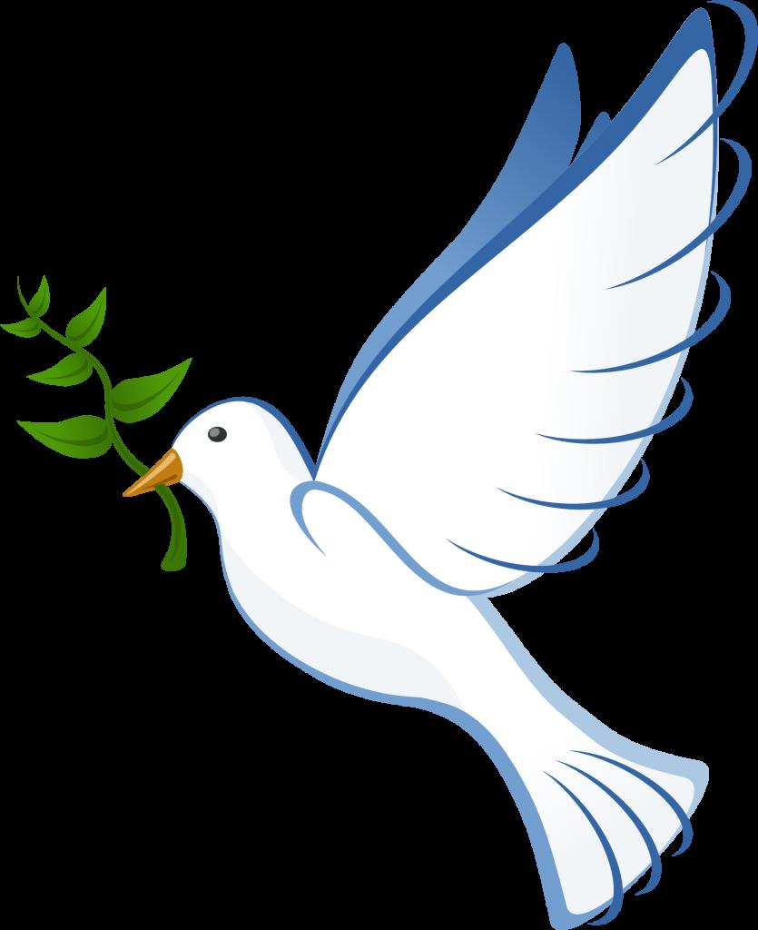 La Paloma de la paz.