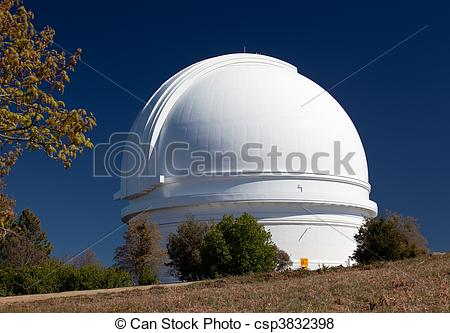 Pictures of Dome of Mount Palomar Telescope.