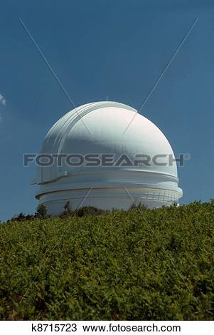 Stock Photo of Mt.Palomar Observatory k8715723.