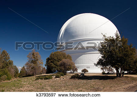 Picture of Dome of Mount Palomar Telescope k3793597.