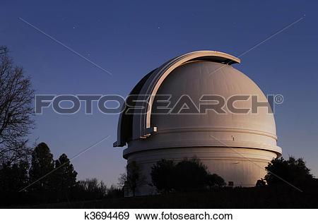 Stock Photograph of Mt. Palomar Observatory k3694469.